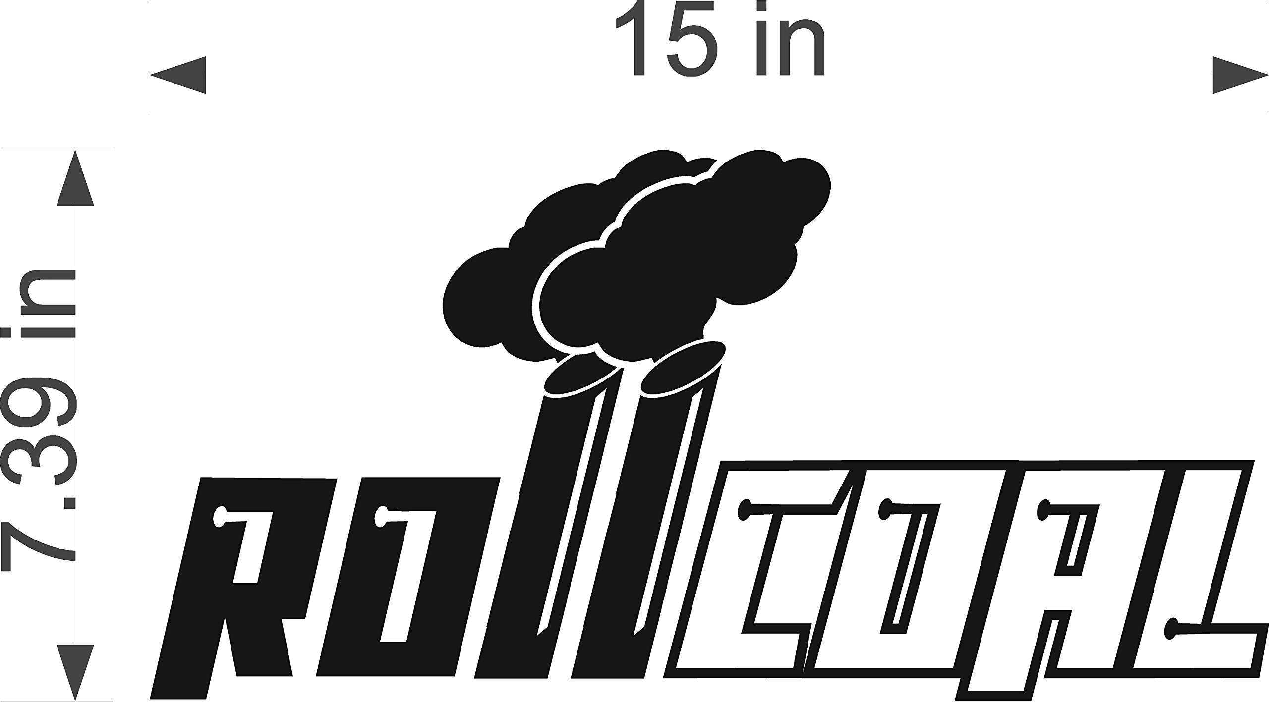 Roll Coalsel Decal