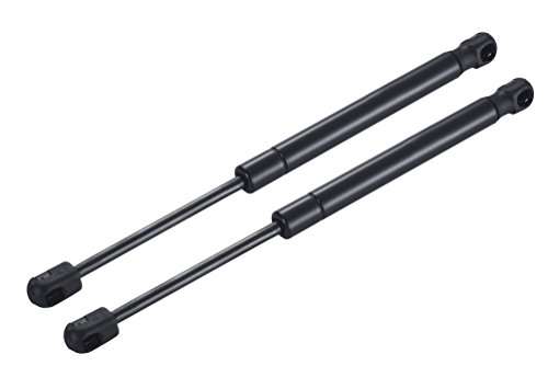 2 Front Hood Gas Charged Lift Supports Struts Shocks