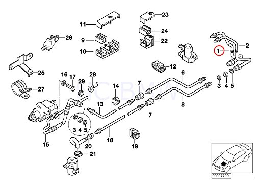 BMW Genuine Feed Line