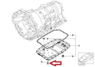 24 X Bmw Oem Transmission Pan Bolt Automatic 6 28 5 Mm