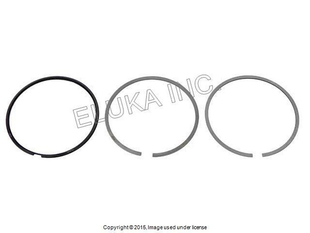 Bmw Oem Crankshaft-pistons Piston Ring Set 84 00 Mm