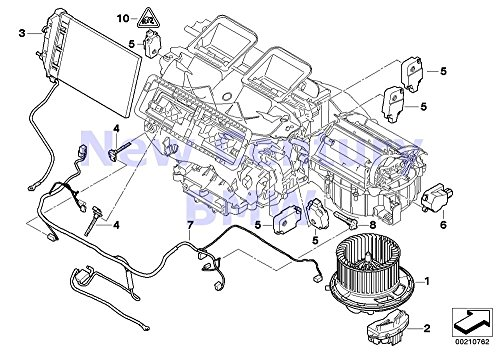 Bmw Genuine Engine Suspension Rubber Mounting Left for