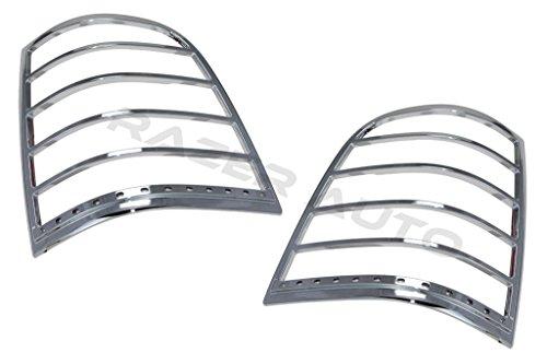 07-10 Ford Explorer Chrome LED Tail Light Bezel w/Turn