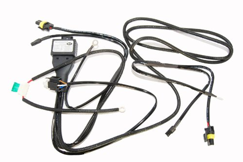 9007 H/L HID Kit Wire Relay Harness for Bi-xenon Kits