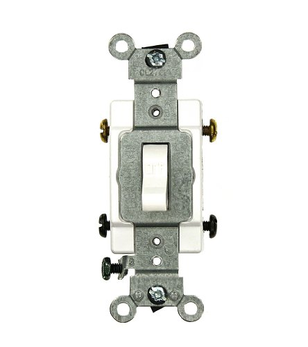 Leviton Csb2-15w 15 Amp 120 277 Volt Toggle Double-pole Ac