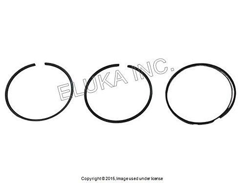 6 X Mercedes-benz Piston Ring Set Standard 88 50 Mm 1 5 75