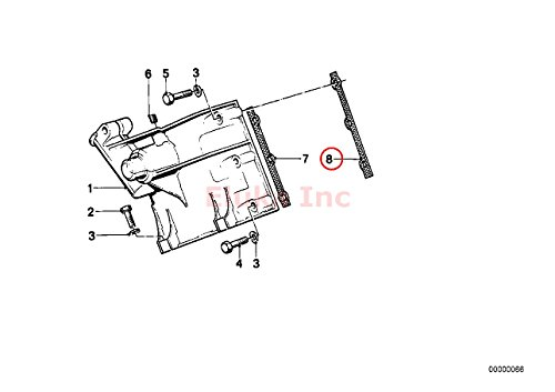 BMW Genuine Timing Cover Gasket Right Upper 528i 530i 733i
