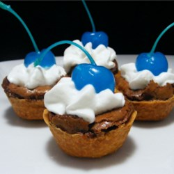Brownie Tarts, courtesy of AllRecipes.com