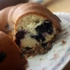 Blueberry Coffee Cake I - This cake is super for a quick breakfast snack with coffee.