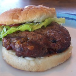 Cheddar Bacon Hamburgers Recipe