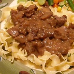 Beef Tips and Noodles Recipe