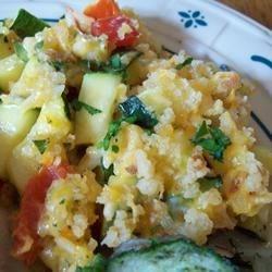 Zucchini Herb Casserole Recipe
