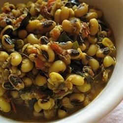 Black-Eyed Peas Spicy Style Recipe