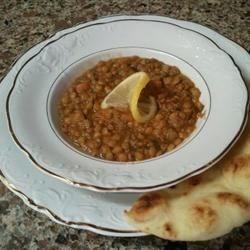 Lentil Soup with Lemon Recipe