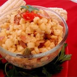 Cajun Corn and Bacon Maque Choux