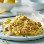angel hair pasta with lemon