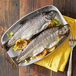 Grilled Whole Trout Foil Packets