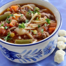 Quick and Zesty Vegetable Soup