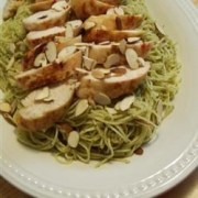 grilled chicken and angel hair