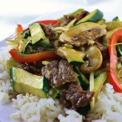 Asian Beef with Snow Peas