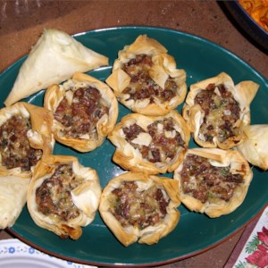Chanterelle Mushroom and Bacon Tartlets Recipe - Wild chanterelle mushrooms and bacon combine wonderfully in this impressive and elegant starter.