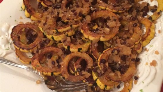 baked delicata squash with lime butter recipe allrecipes com
