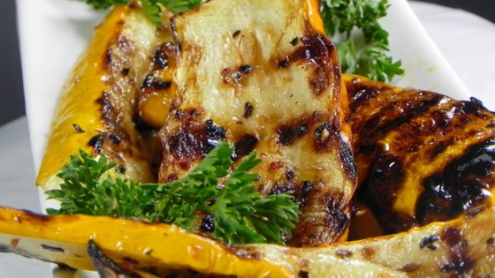 Grilled Yellow Squash Recipe  Allrecipescom