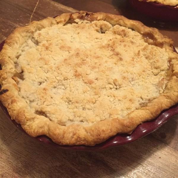 apple crumble pie photos allrecipes com