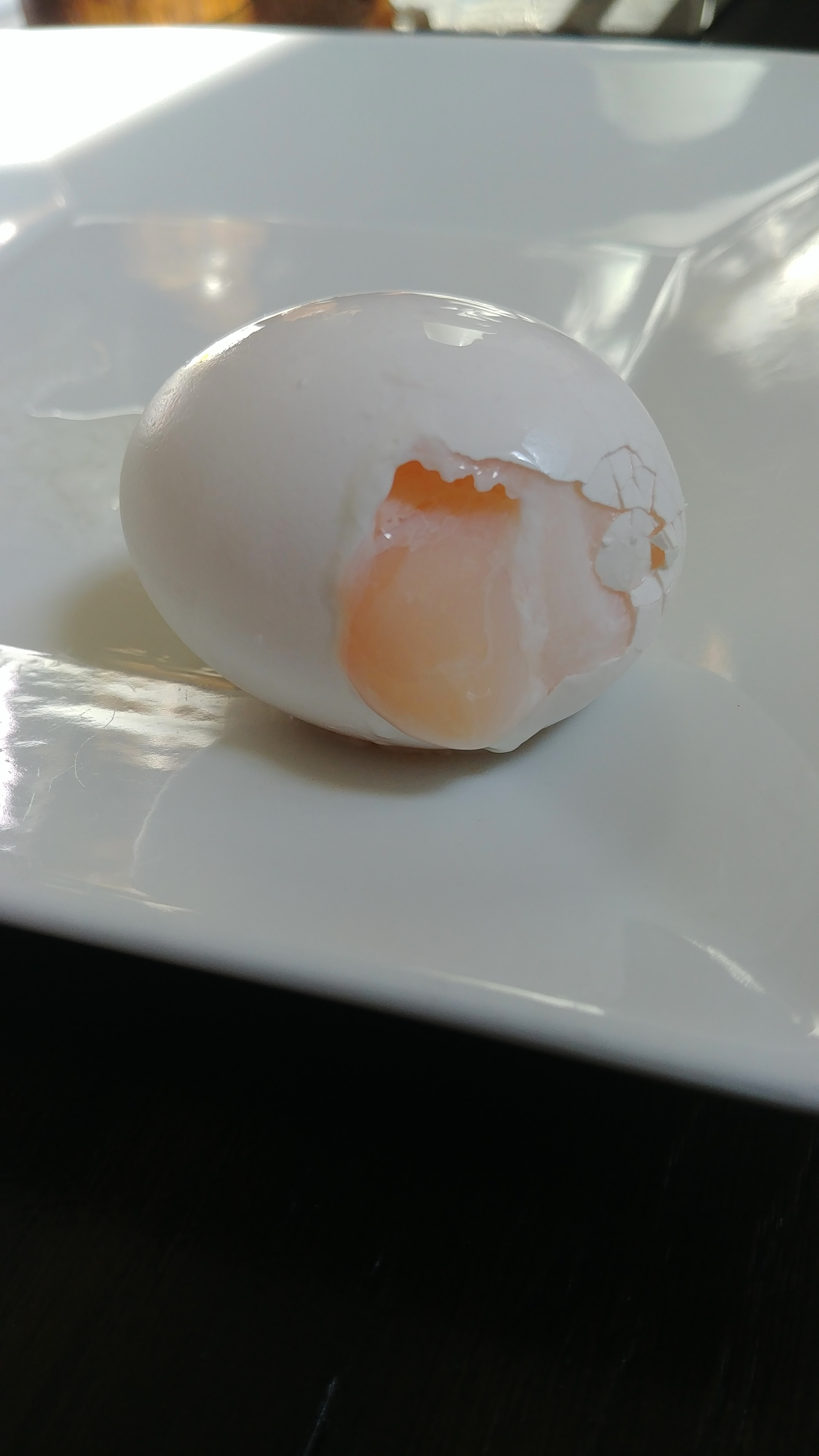 soft boiled eggs in the microwave