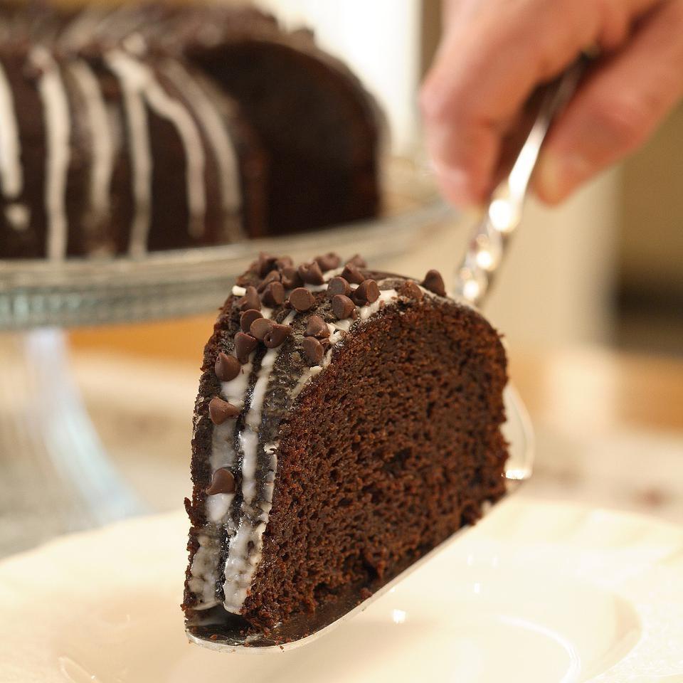 Glazed ChocolatePumpkin Bundt Cake Recipe  EatingWell