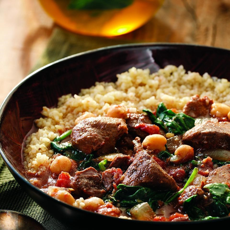 Middle Eastern Lamb Stew Recipe