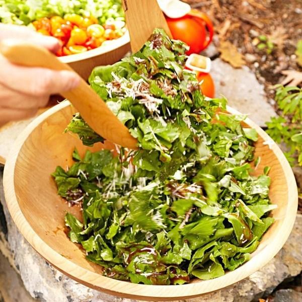 Herb amp Arugula Salad with Balsamic Vinaigrette Recipe