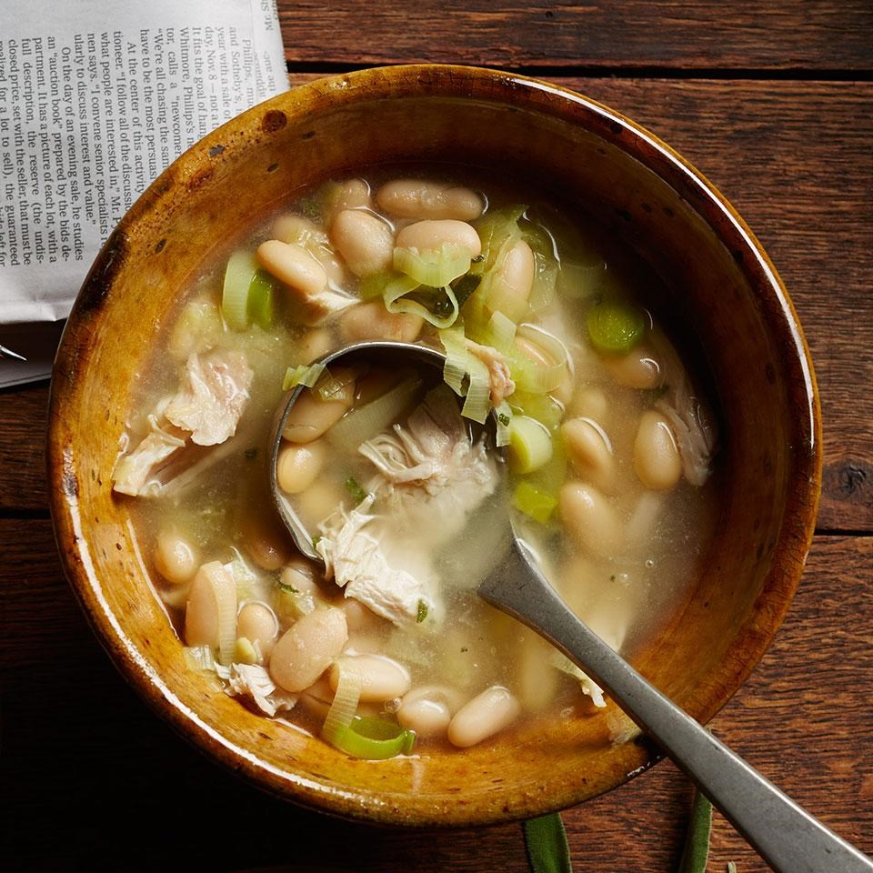 Chicken  White Bean Soup Recipe  EatingWell