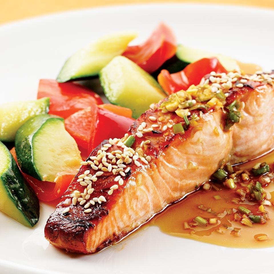 HoneySoy Broiled Salmon Recipe  EatingWell