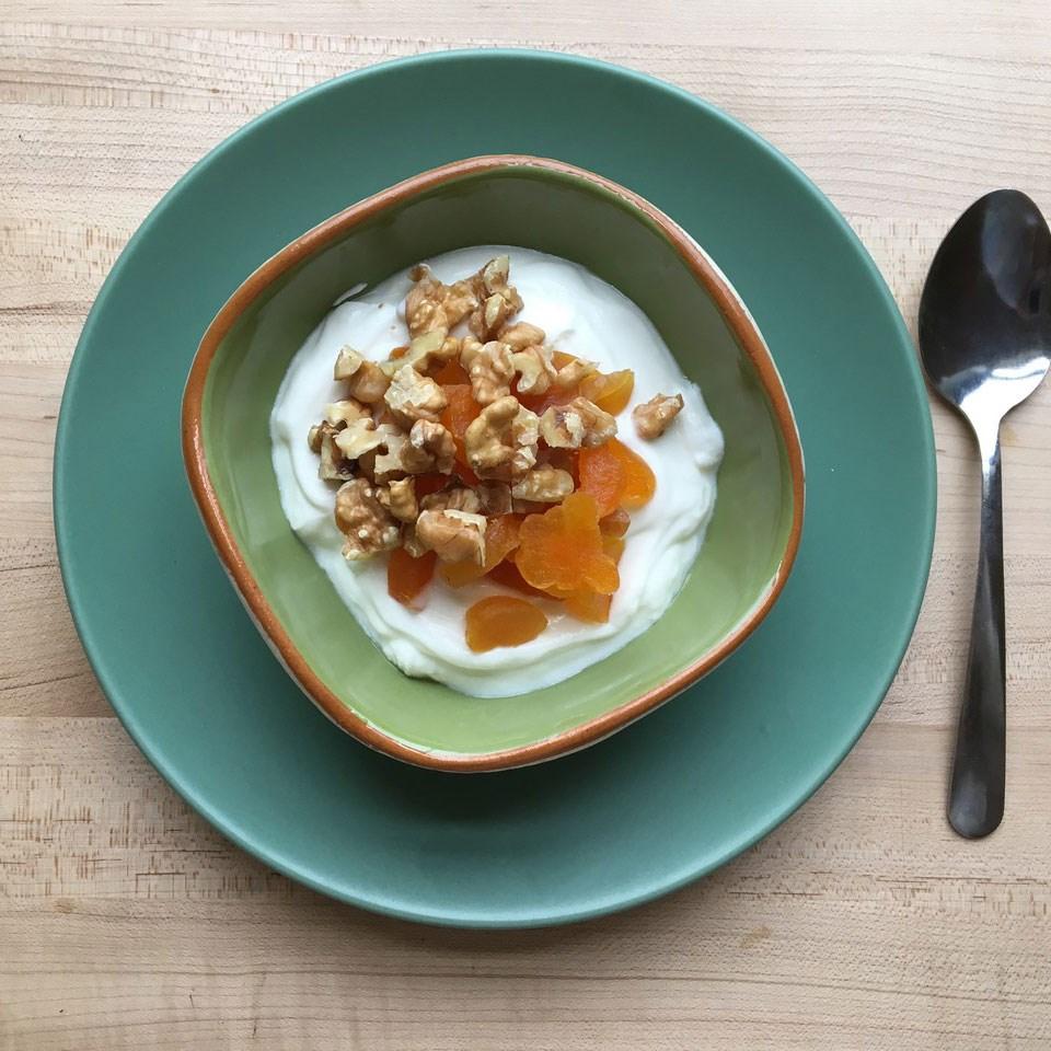 Greek Yogurt with Fruit  Nuts Recipe  EatingWell