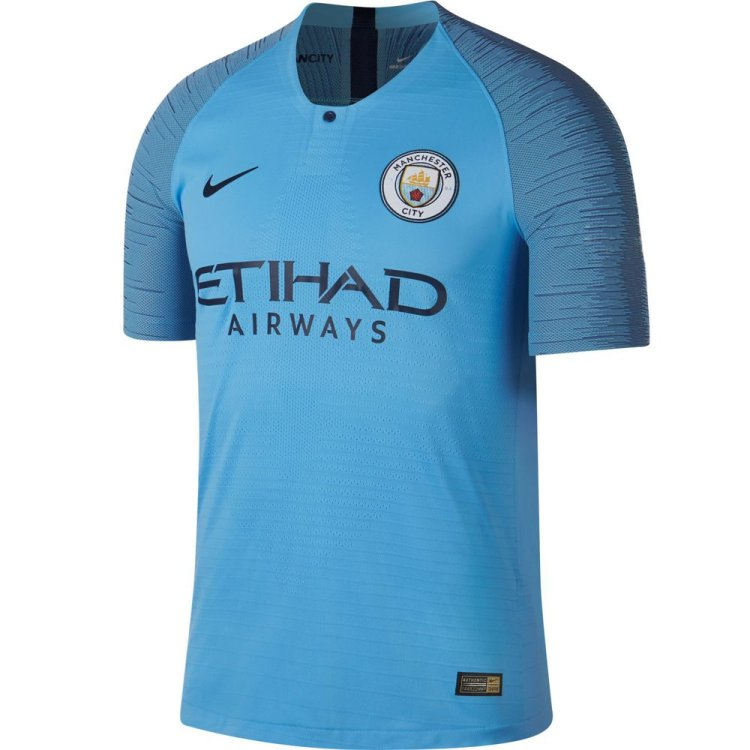 Nike Manchester City 2018-19 Home Champions League Jersey ...