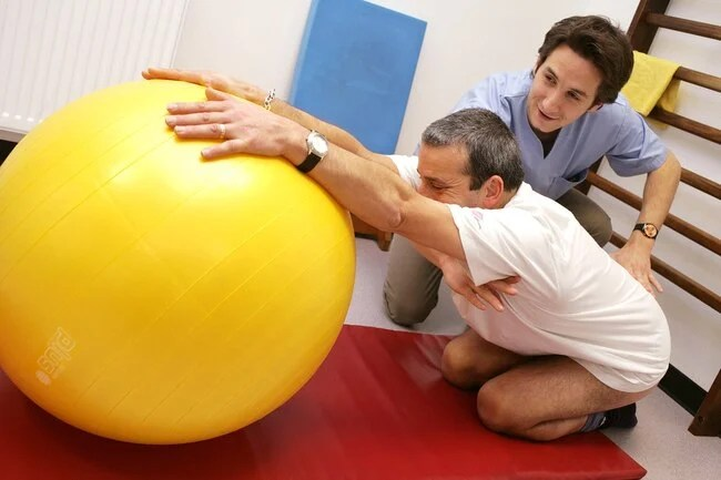You might need physical therapy to treat a herniated disk.