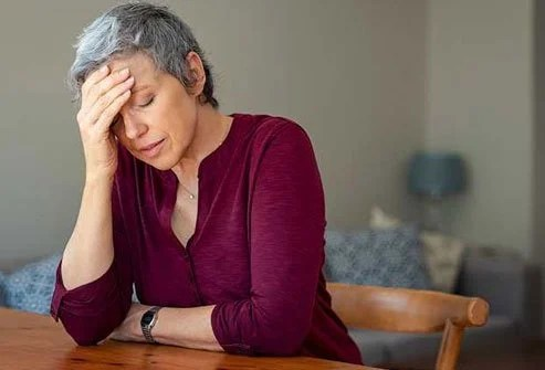 Hair loss is common with the hormone shifts that occur in menopause.