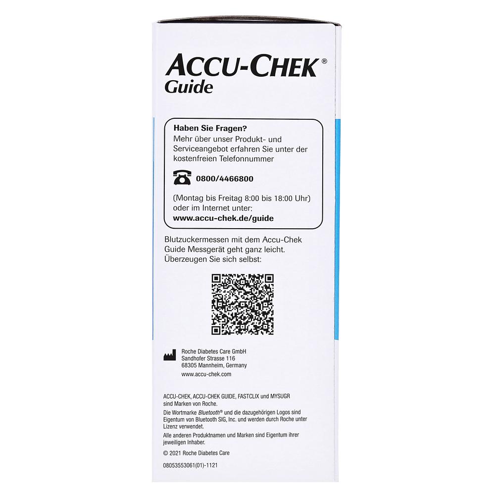 ACCU CHEK Guide Blutzuckermessgerät Set mg/dl 1 Stück