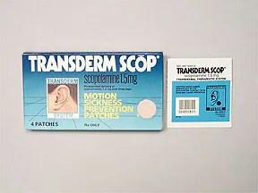Transdermal Scopolamine Patch Side Effects - filmsplans73 ...