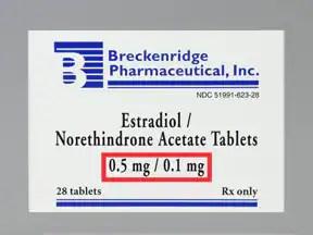 estradiol-norethindrone acetate oral Drug information on ...