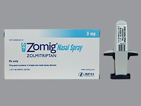Zomig nasal Drug information on Uses Side Effects ...