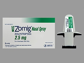 zolmitriptan nasal : Uses Side Effects Interactions ...