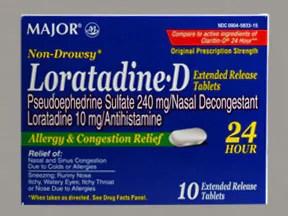 Loratadine-D oral Drug information on Uses Side Effects ...