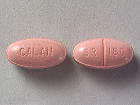 Calan SR oral Drug information on Uses Side Effects ...