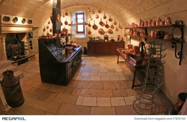 Medieval Kitchen At Chenonceau Castle In France Stock Photo 17833193 Megapixl