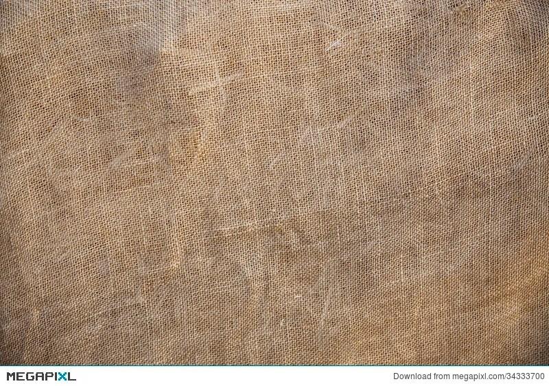 rustic old fabric burlap