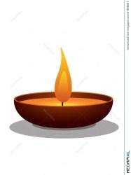 Clay Oil Lamp Illustration 61988681 Megapixl