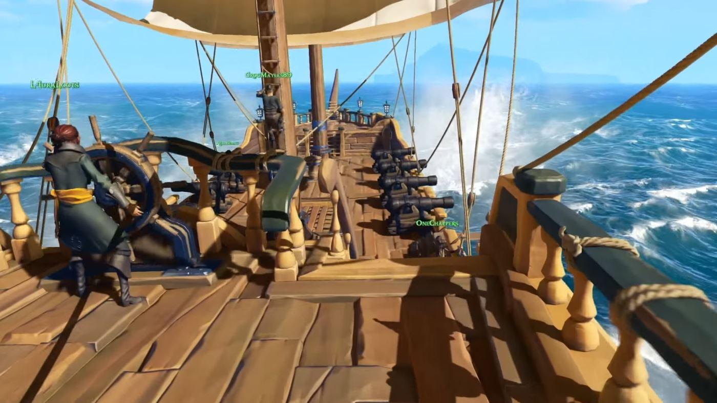Sea Of Thieves Neuer Piraten Multiplayer Taucht Bis 2016