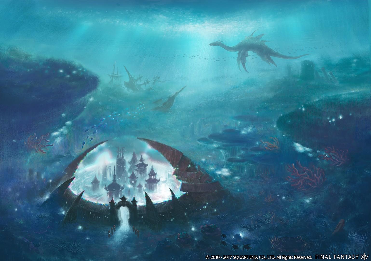 Final Fantasy XIV Stormblood So Schwimmt Und Taucht Ihr